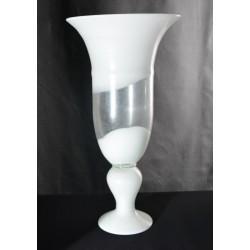 Vase Weiße Welle