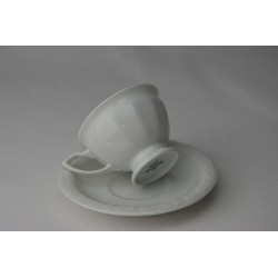 Espresso Tasse und Untertasse Maria Weiß
