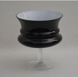 Vase-Schale Magna Schwarz