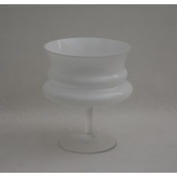 Vase-Schale Magna Weiß