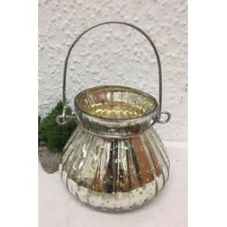 Windlicht_Teelicht Bauernsilber Dora