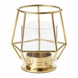 Teelichthalter Gema Gold