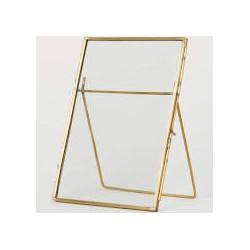 Bilderrahmen Metall Gold _Tischnummer
